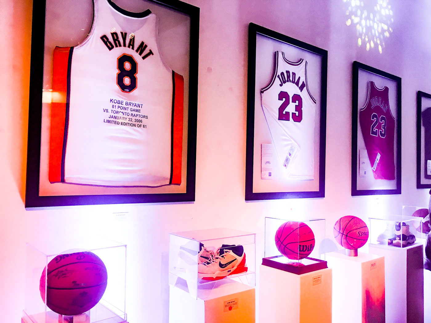 STUFF FROM THE BEST. HOFA displays its wide range of collectibles. Photo by Beatrice Go/Rappler