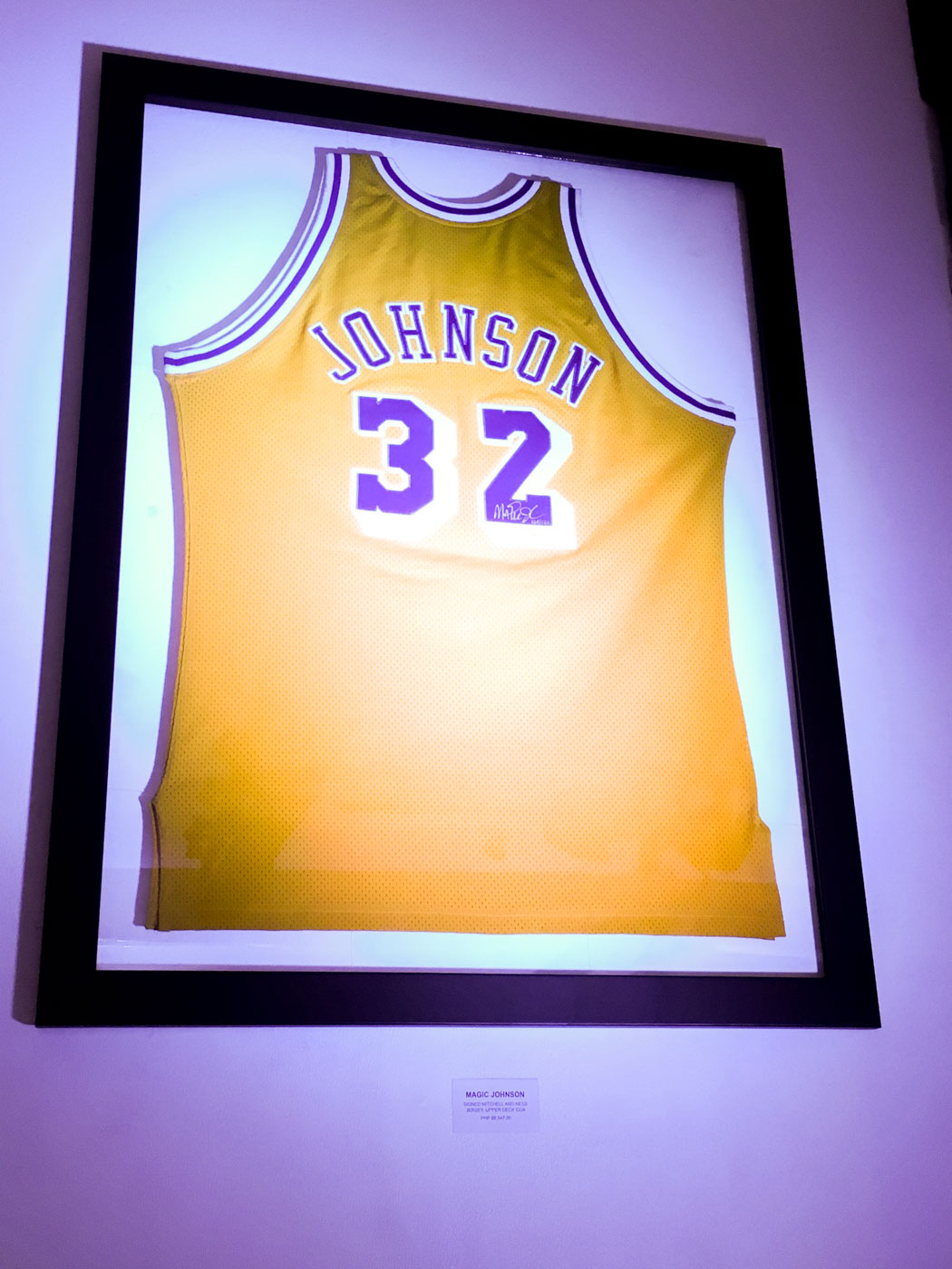 PROUD LAKER. Magic Johnson spent his whole NBA career with the Los Angeles Lakers and is currently the president of its basketball operations. Photo by Beatrice Go/Rappler