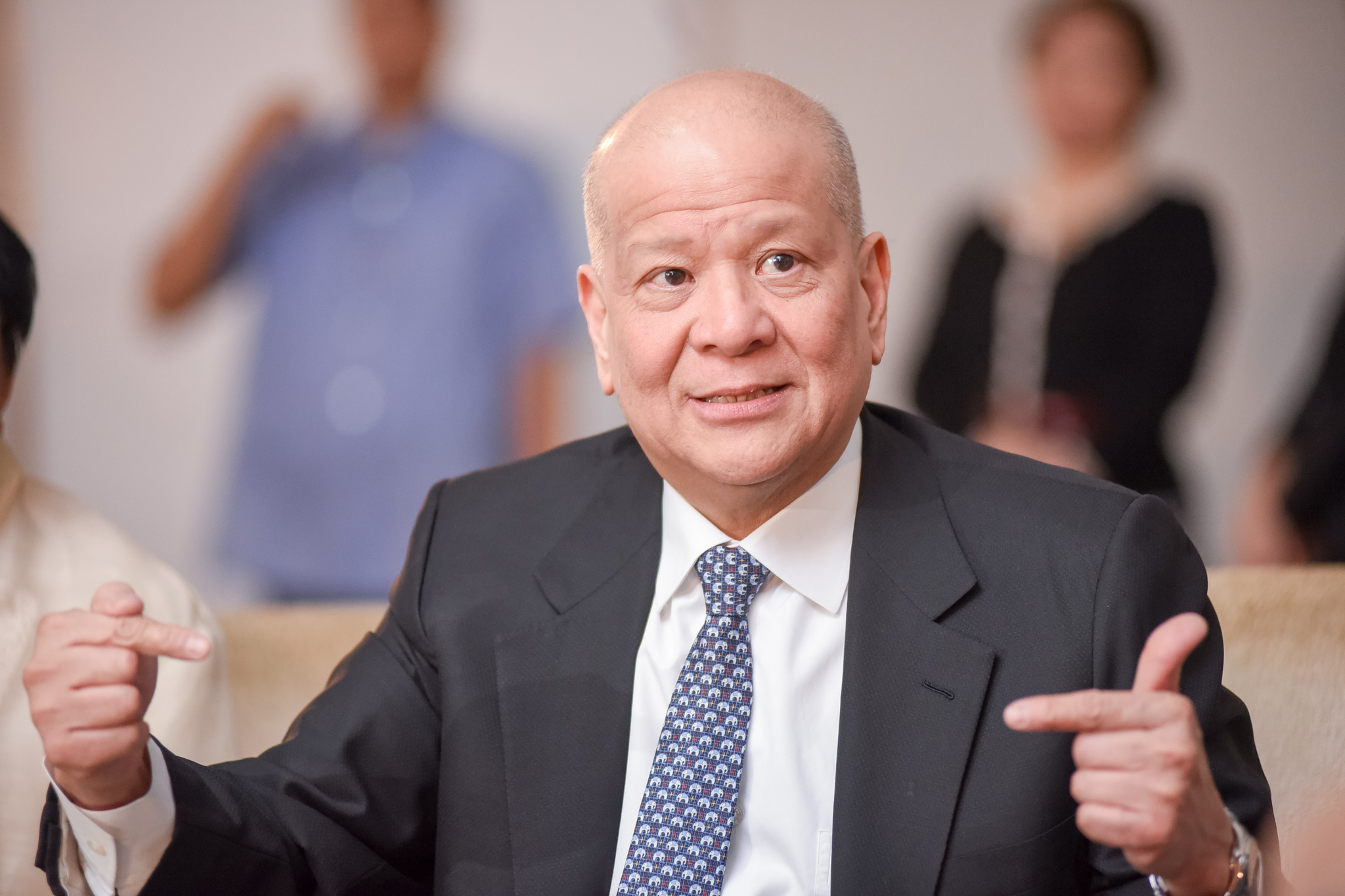 NEW PLANT. 'We will break ground soon,' tycoon Ramon Ang says about San Miguel Corporation's new bottling and brewery plant in Cagayan de Oro City. Photo by Martin San Diego/Rappler