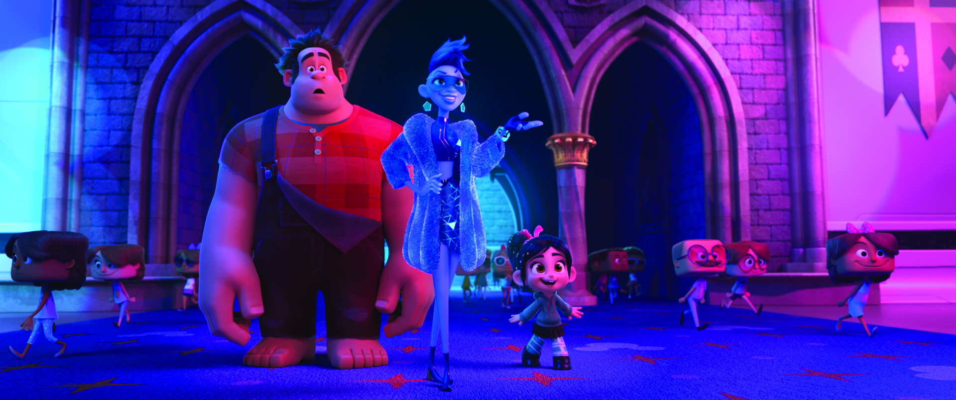 WRECK IT RALPH 2.  In 'Ralph Breaks the Internet: Wreck It Ralph 2,' game bad guy Ralph and his fellow misfit Vanellope von Schweetz venture into the expansive and thrilling world of the Internet  Photo from Disney
