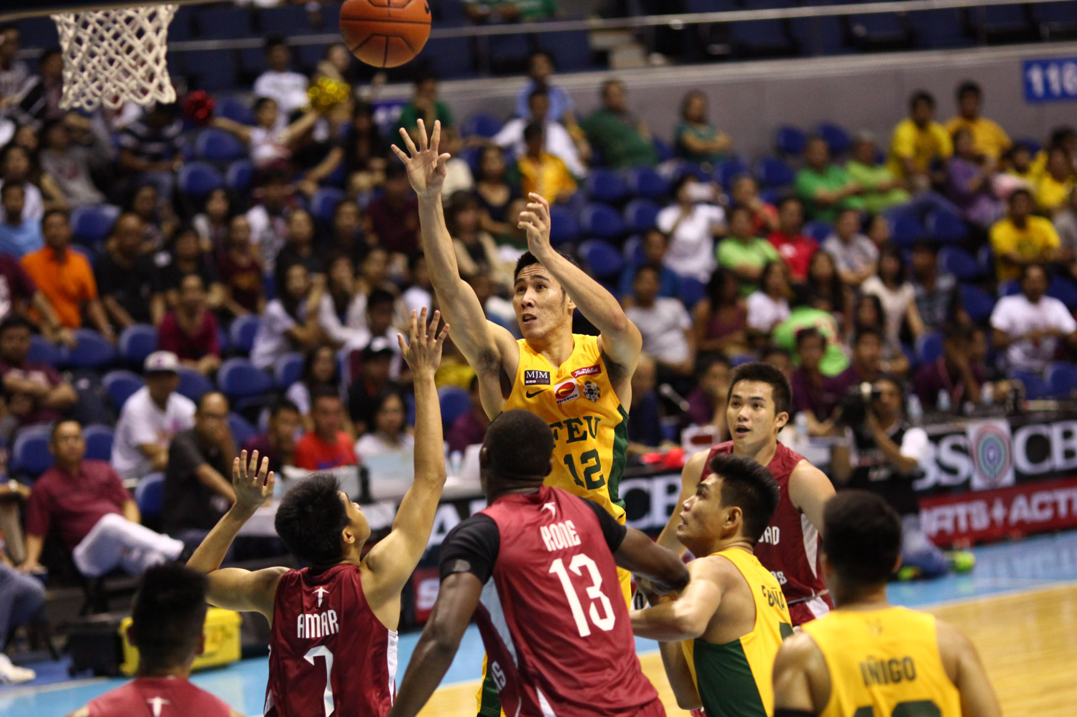 BELO-TASTIC. The Tamaraws have been getting by the skin of their teeth recently thanks to Belo's strong play. Photo by Josh Albelda / Rappler