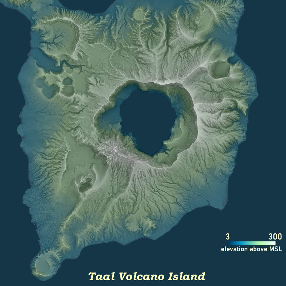 Satellite image generated from the DREAM and Phil-LiDAR Programs of the UP TCAGP. Image from PCIEERD Media