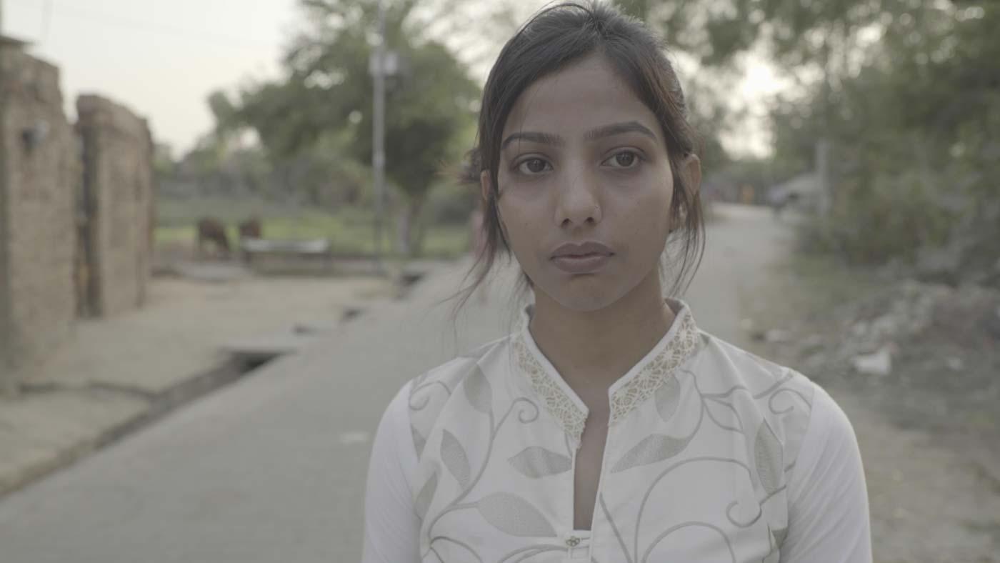 TRUTH. Diksha Singh, daughter of Jagendra Singh. Photo courtesy of Forbidden Stories