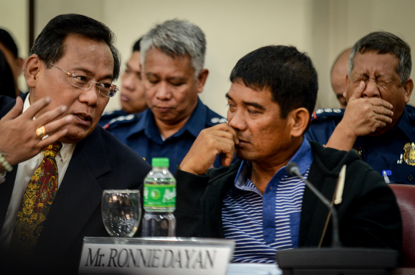 WHO'S LYING? Ronnie Dayan at the House of Representatives on November 24, 2016. Photo by LeAnne Jazul/Rappler