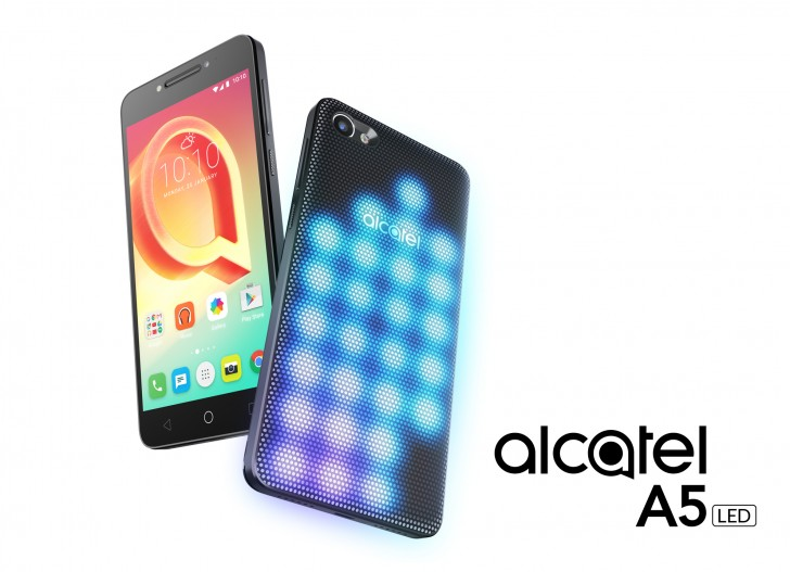 A5 LED. Photo from Alcatel