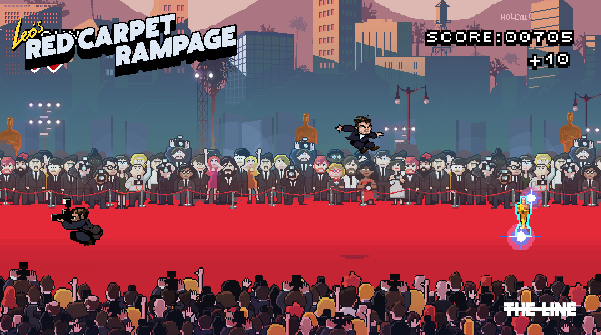 Game still from redcarpetrampage.com