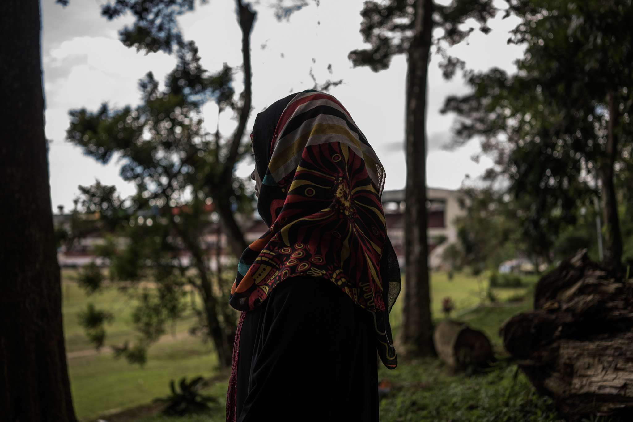 IDEAL DEATH. 'For me, dying as a mujahideen is the ideal deathu0080u009d,' says Sakeena, who thought of joining Maute-ISIS training, but was discouraged by her mother. Photo by Martin San Diego/Rappler