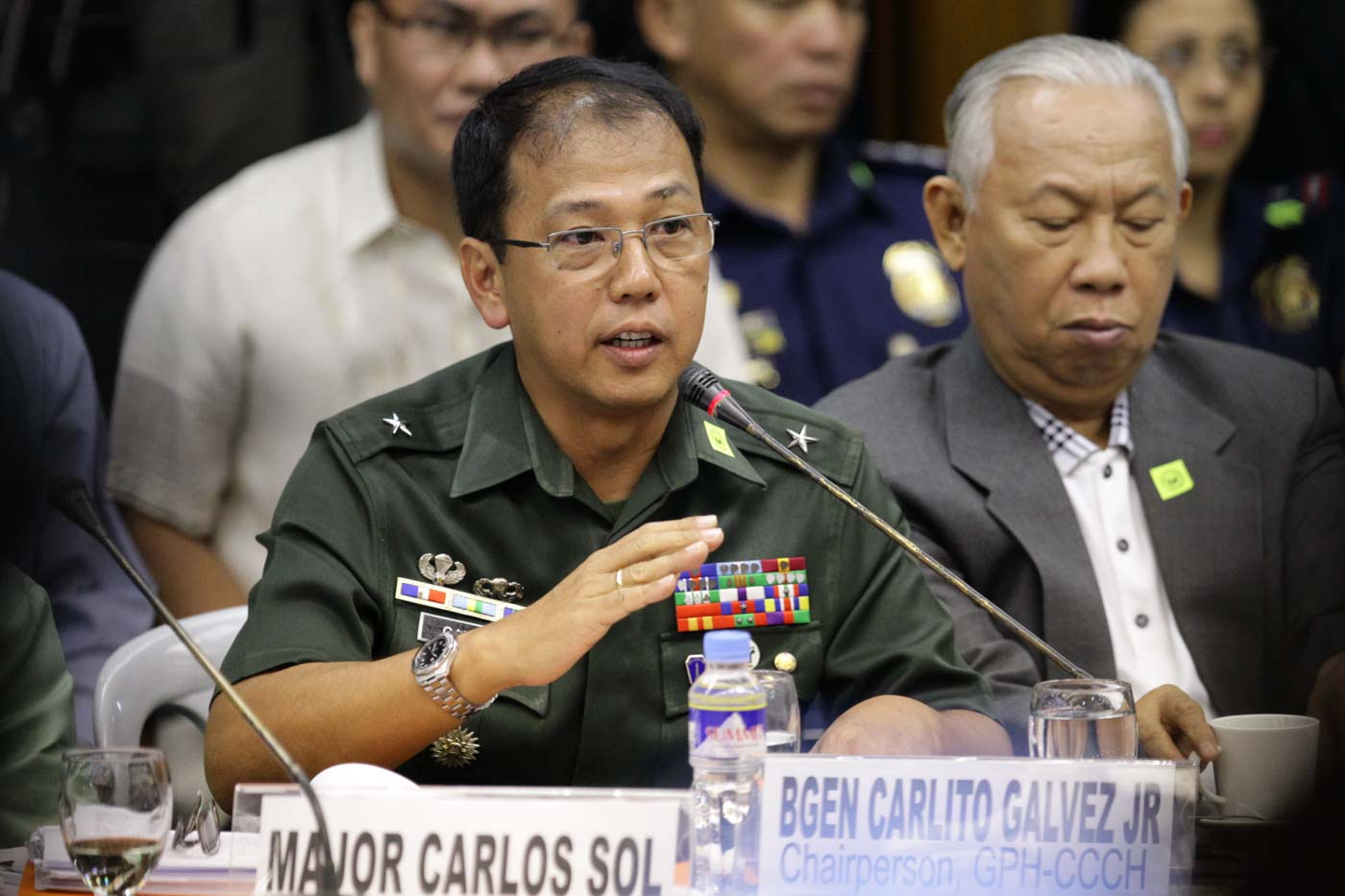 AFP CHIEF-IN-WAITING. Lieutenant General Carlito Galvez will assume his post as Armed Forces chief on April 18, 2018. File Photo by Mark Cristino