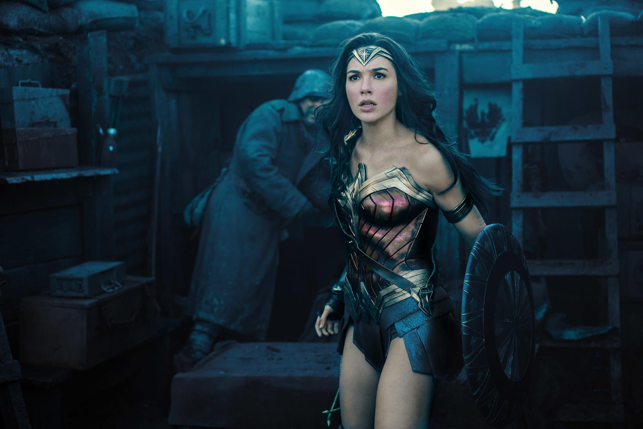 WONDER WOMAN. Photo courtesy of Warner Bros Entertainment Inc