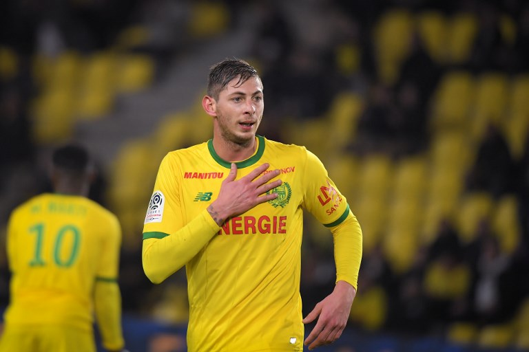 TRAGIC. The family of footballer Emiliano Sala has been kept informed of the retrieval operations. Photo by Loic Venance/AFP