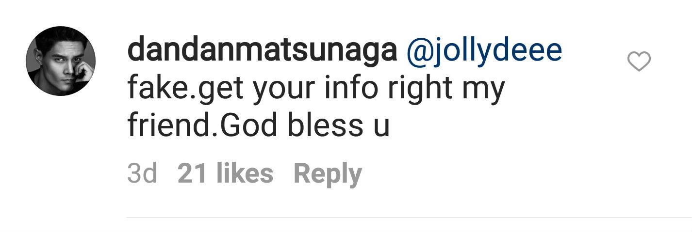 Screengrab from Instagram/@dandanmatsunga