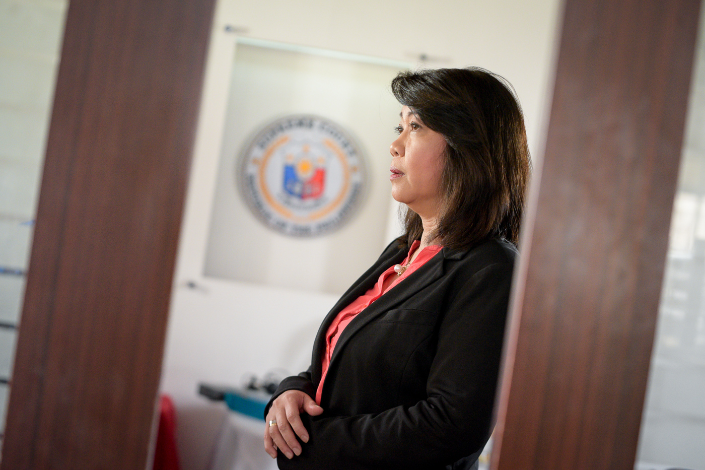 CHALLENGES. Supreme Court Chief Justice Maria Lourdes Sereno faces a tough challenge as fellow justices ask her to go on leave. Photo by LeAnne Jazul/Rappler