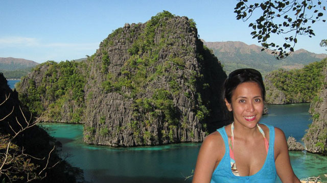 BEST THINGS. The best things in life: seeing beautiful places like Coron, Palawan. Photo courtesy of Rachel Alejandro