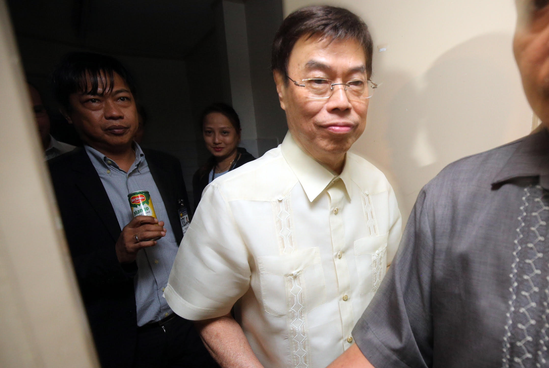 WARRANT OUT. A Makati City court issues an arrest warrant against alleged drug lord Peter Lim. File photo by Ben Nabong/Rappler