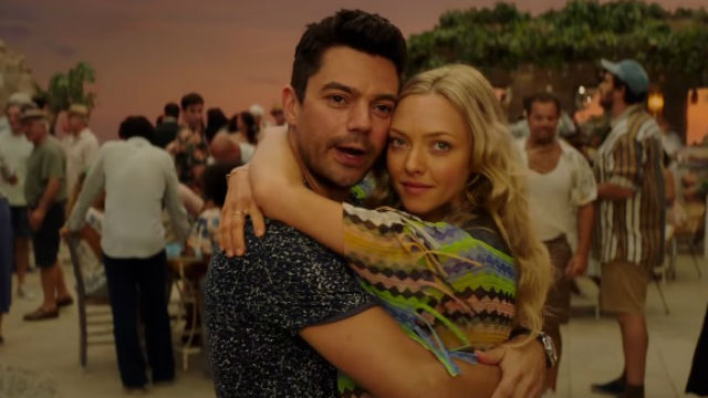 BABY ON THE WAY. Sophie (Amanda Seyfried) and Sky (Dominic Cooper) are about to start a family.