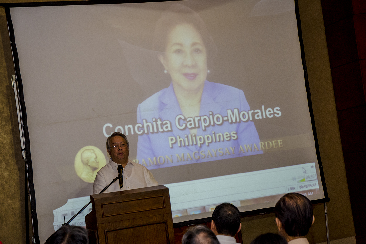 'HEROES OF ASIA.' Ombudsman Conchit Carpio Morales is one of 6 winners of the 2016 Ramon Magsaysay Awards. Photo by Rob Reyes/Rappler