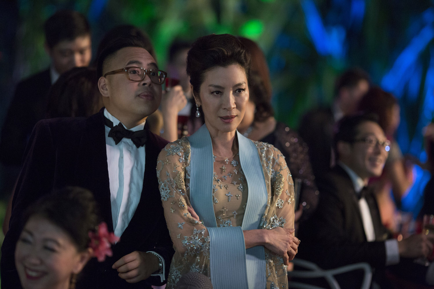 LEGEND. Nico Santos shares a scene with screen legend Michelle Yeoh, who he considers as one of his heroes. Photo courtesy of Warner Bros/ RatPac-Dune