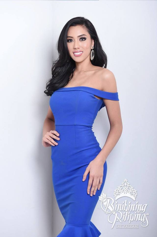 Ena Velasco in an official photo for Bb Pilipinas. Photo courtesy of Bb Pilipinas
