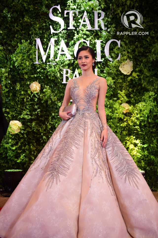 BELLE OF THE BALL. Kim Chiu in Michael Leyva. File photo by Alecs Ongcal/Rappler