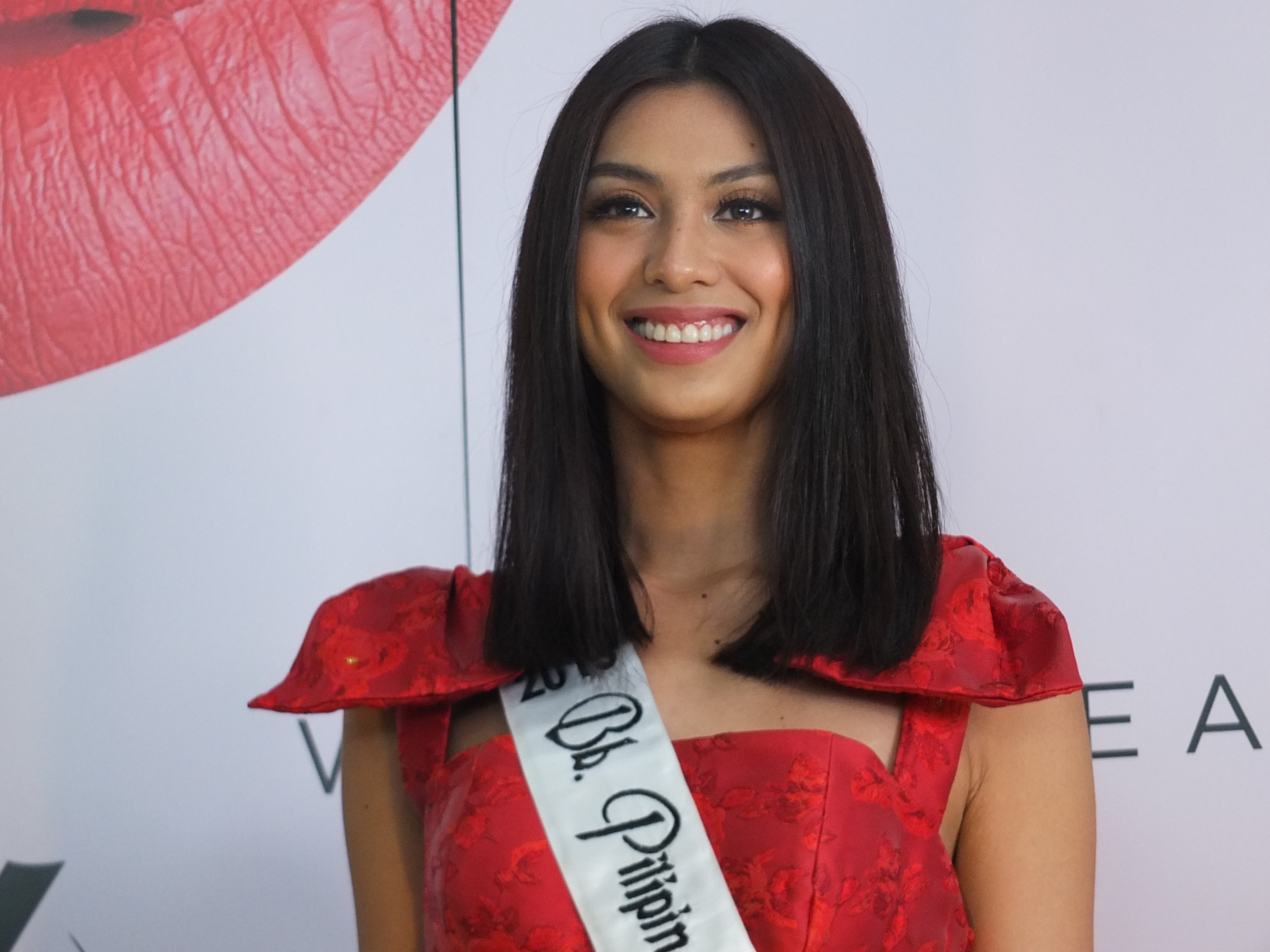 NEUTRAL. Bb Pilipinas International 2019 Patch Magtanong says they try to be neutral in answering political questions thrown at them.