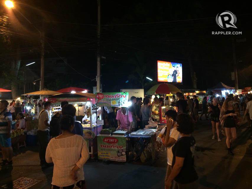 READY, SET, SHOP. Night market in Chiang Mai. Photo by Ina Sebastian