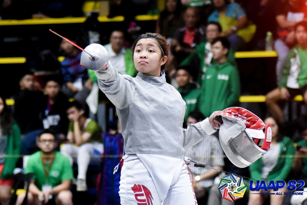 BRIGHT FUTURE. Samantha Catantan wraps up her stellar juniors career with another crown before leaving for the US NCAA. Photo release