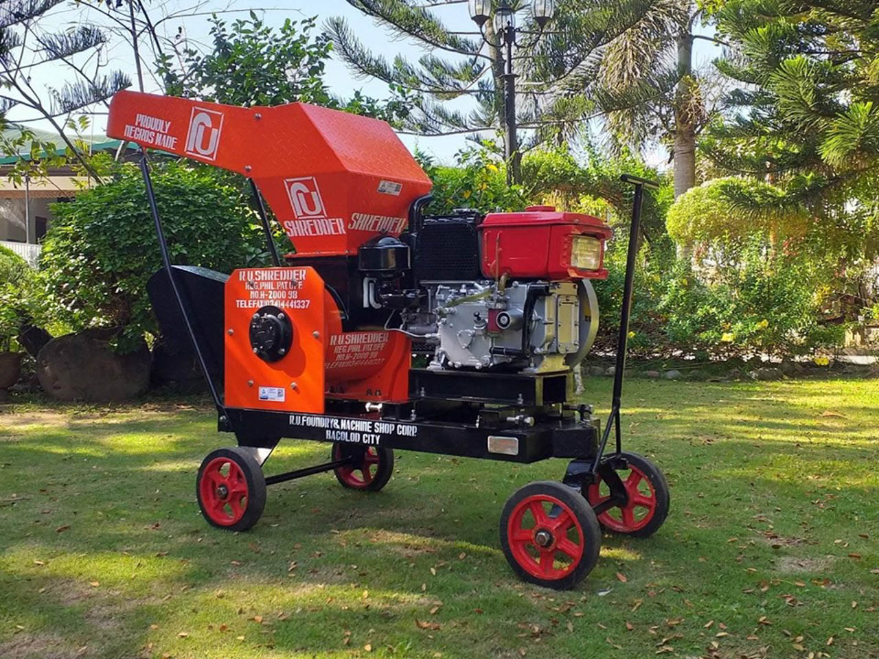 ENHANCING AGRI. The first ever Philippine-made 12-horsepower diesel engine. Photo courtesy of DOST-STII
