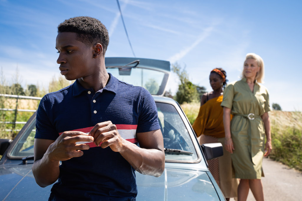 UNDER PRESSURE. In season 2 of 'Sex Education,' Jackson (Kedar Williams-Stirling) faces more pressure from his parents to succeed. Photo courtesy of Netflix