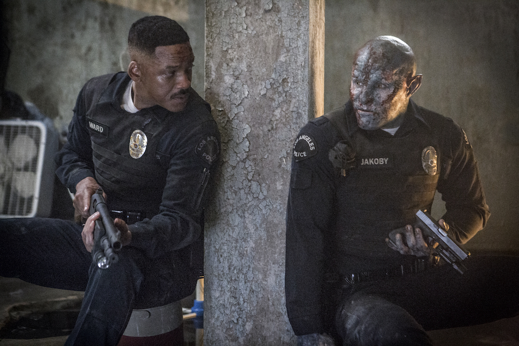 BATTLE. Will Smith and Joel Edgerton in 'Bright.'