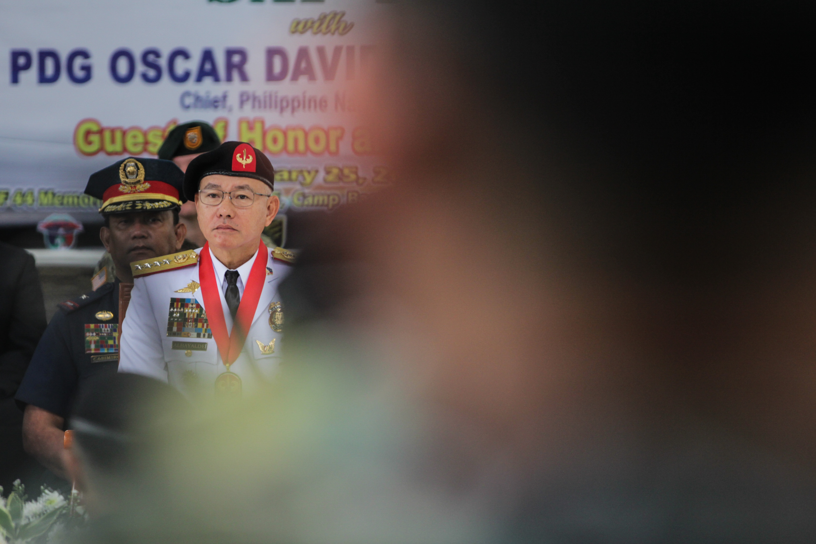 TROOPER-TURNED-CHIEF. Philippine National Police Chief Oscar Albayalde leads the day of remembrance of the SAF 44 at Special Action Force Headquarters in Bicutan, Taguig on January 25, 2019. Photo by Lito Borras/Rappler