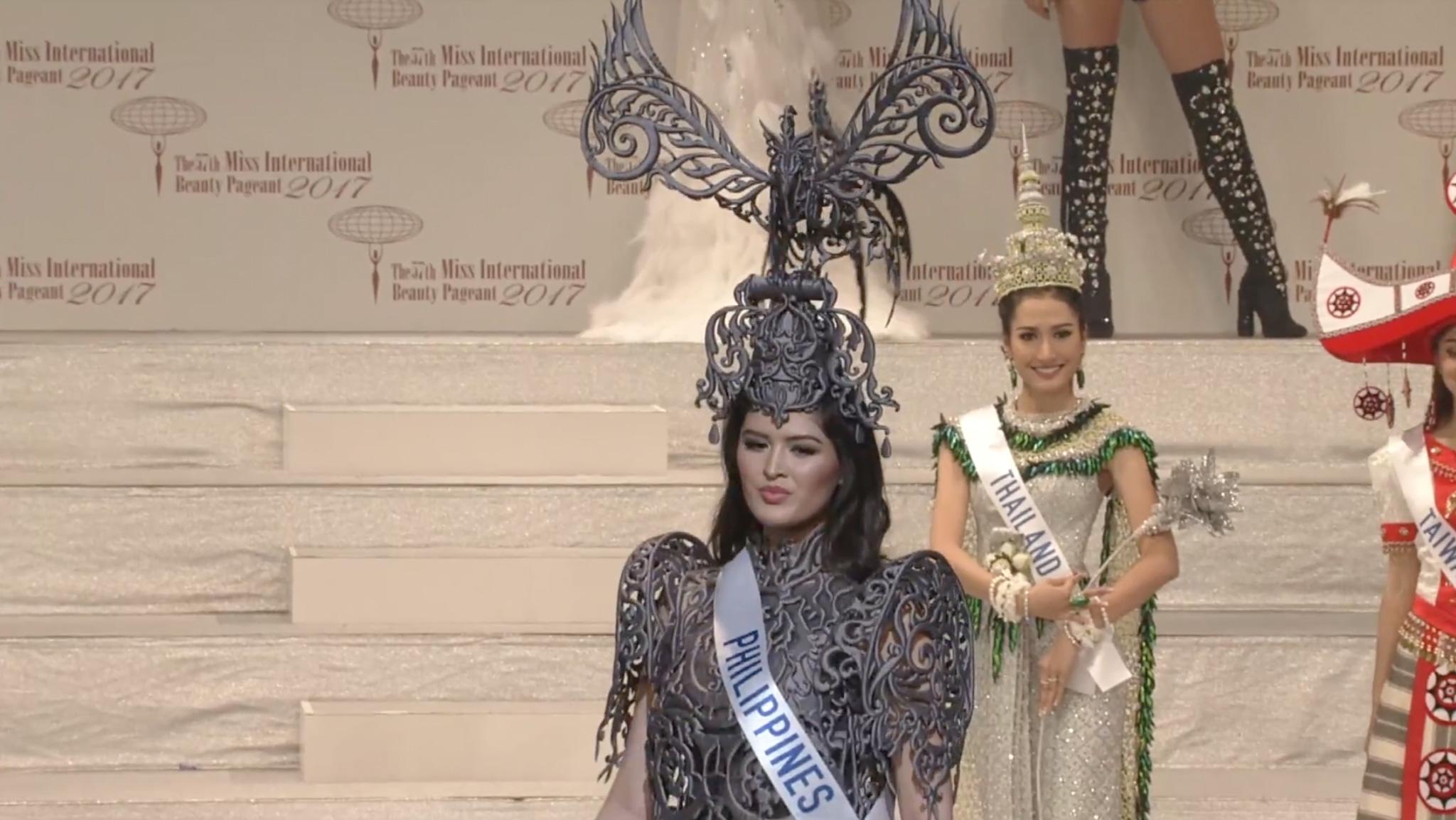 Screengrab from Miss International