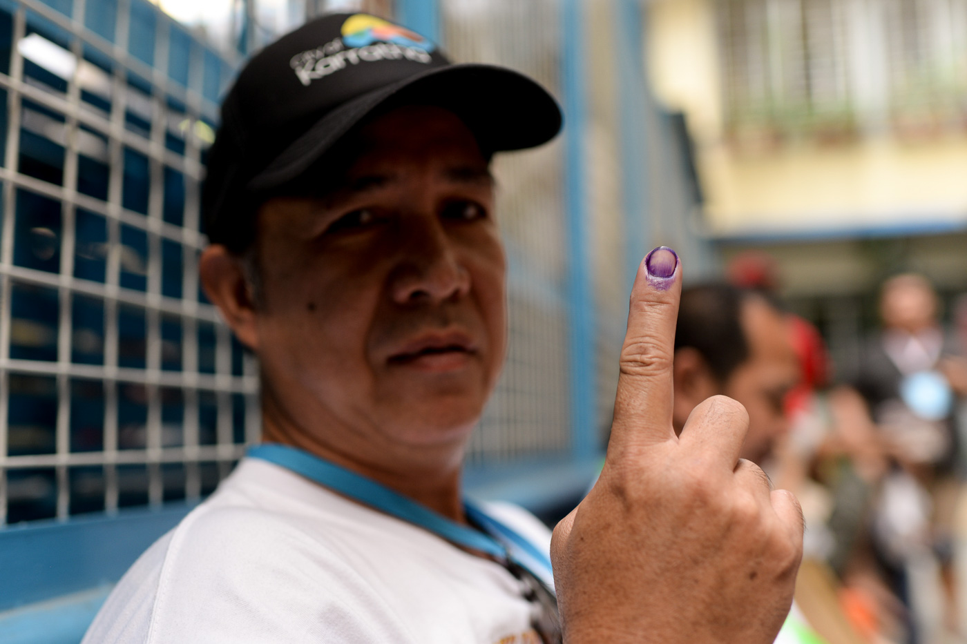 GOOD INFLUENCE. For Joseph Barboza of Delpan, he hopes the good winners will influence the other barangay leaders.  Photo by Eloisa Lopez/Rappler