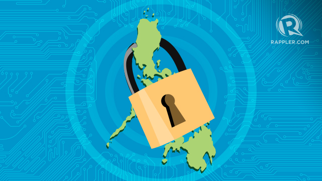 LOCKED IN. The NCSP hopes to lift the country's cybersecurity capabilities to global standards. The DICT eyes learning from the established programs of other nations to speed up the country's improvement of its cyber defenses. Illustration by Alyssa Arizabal/Rappler
