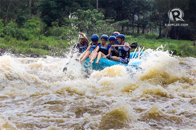 WHITEWATER RAFTING. Braving the rapids in Cagayan de Oro can give that surge of adrenaline. Photo by Bobby Lagsa