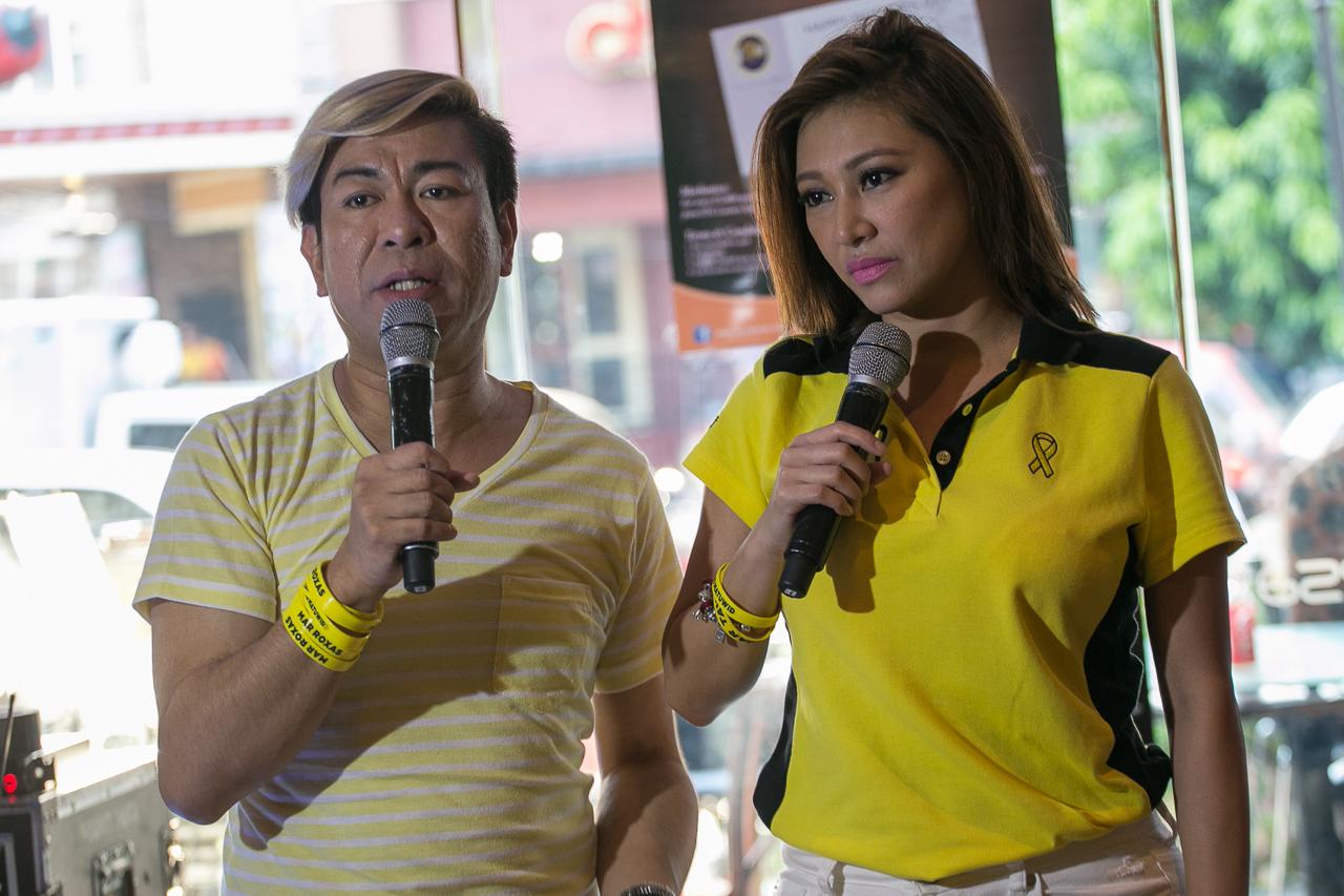 Eagle and Rufa Mae Quinto