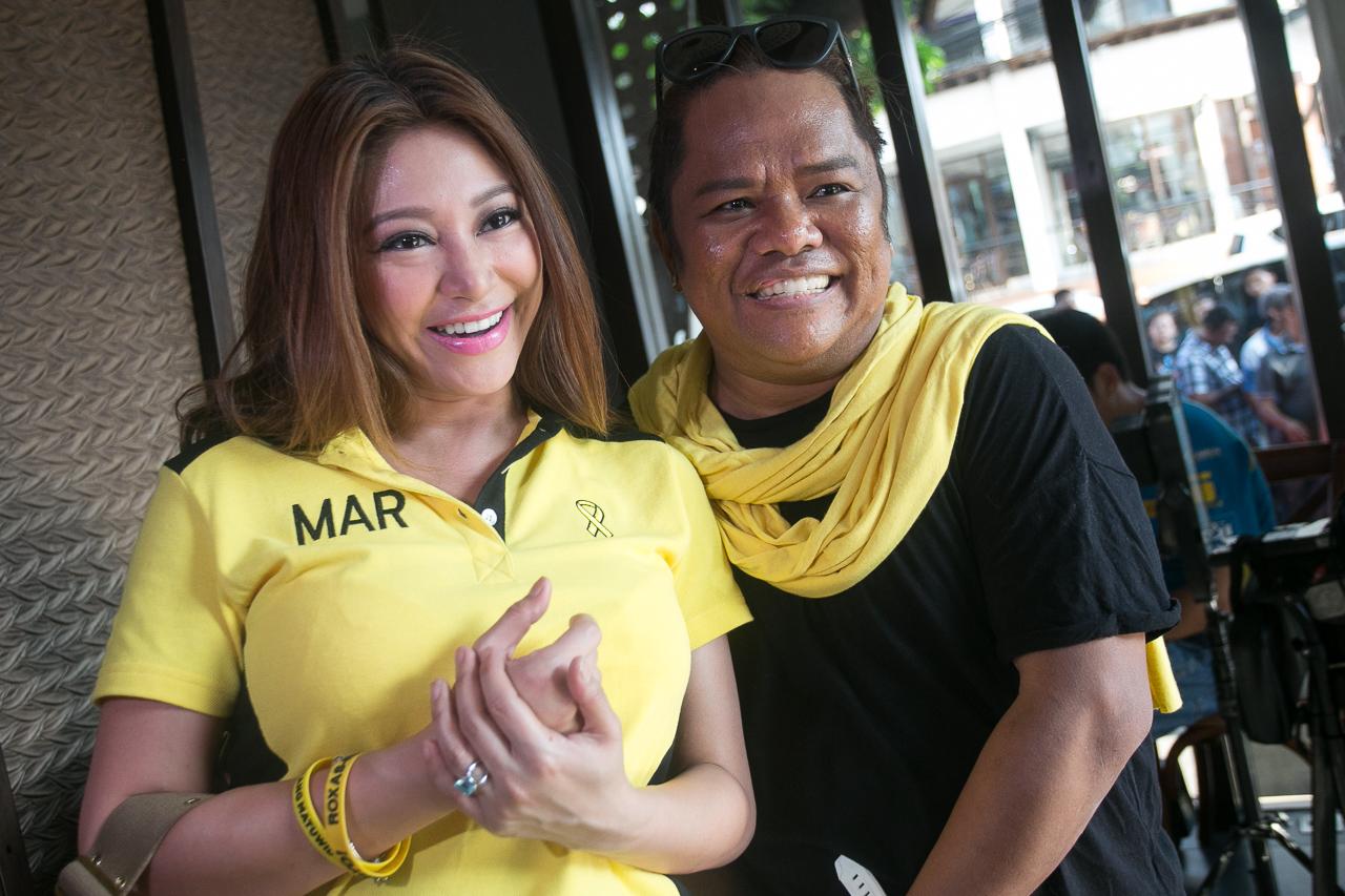 Rufa Mae Quinto and Chokoleit