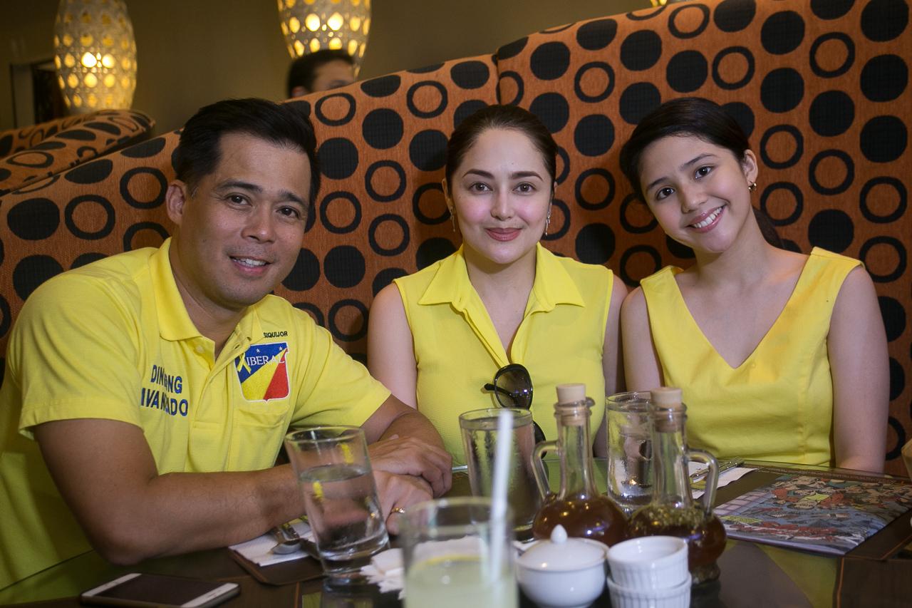 Dingdong Avanzado, Jessa Zaragoza with daughter Jayda