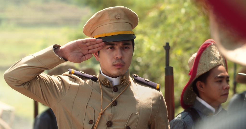 BOY GENERAL. Paolo Avelino plays Gregorio Del Pilar, a talented but still immature military man who comes of age in the film. Photo courtesy of TBA Studios