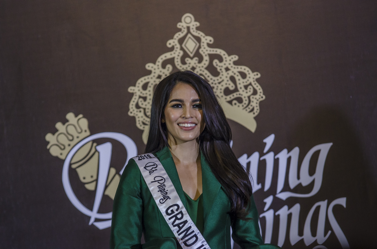 KINDNESS. Samantha Lo knows that the pageant she'll be going to has a lot of controversies, but would rather focus to represent the Philippines.
