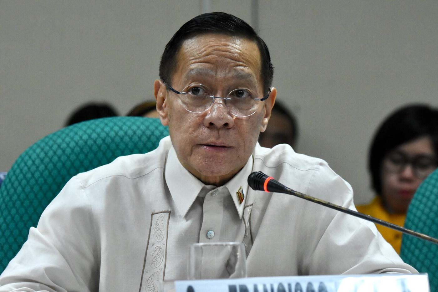 APPEAL. Health Secretary Francisco Duque III asks for additional funds for the Universal Health Care program. Photo by Angie de Silva/Rappler