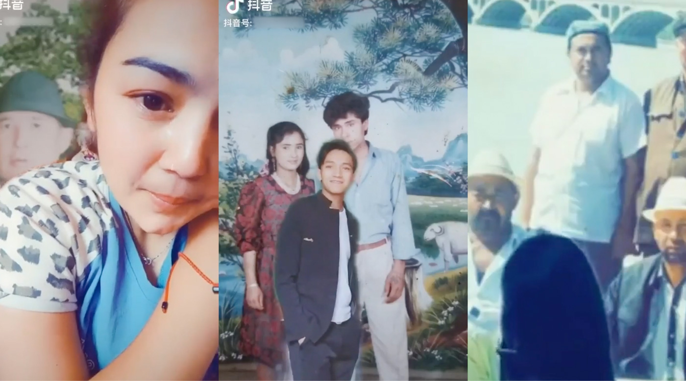 FAMILY. In August, videos of Uyghurs mutely standing before their relatives began appearing on TikTok. Uyghurs around the world saw the videos as a silent protest against Chinau2019s ongoing detention of Muslim minorities