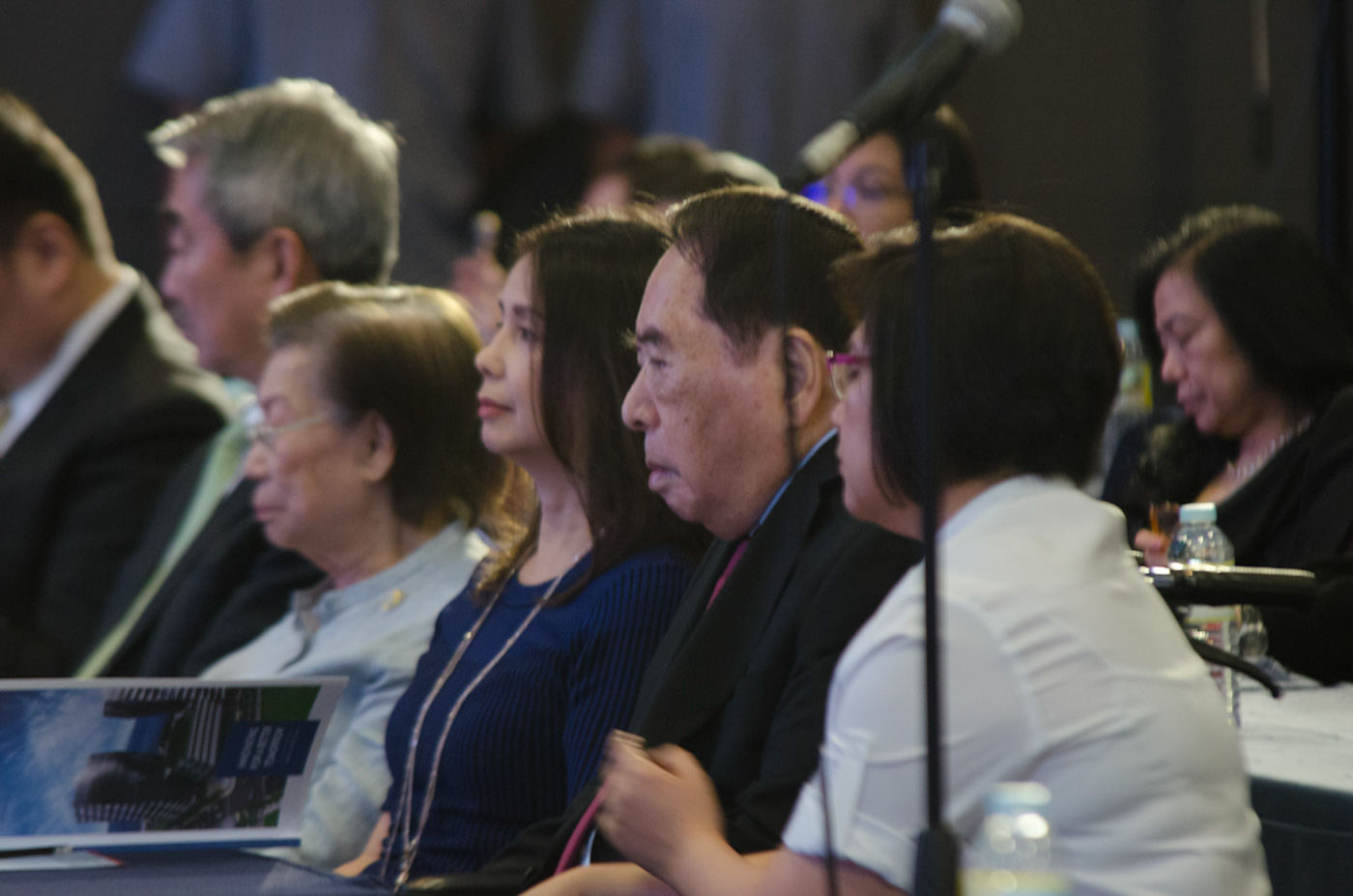 'TATANG.' 92-year-old Henry Sy Sr during the 2016 annual stockholders' meeting of SM Investments Corporation. Photo by Rob Reyes/Rappler