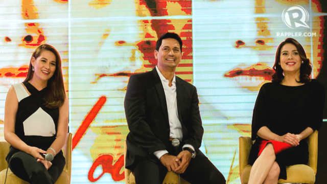 THE LOVE AFFAIR. Stars Bea Alonzo, Richard Gomez and Dawn Zulueta talk about doing intimate scenes in the movie. Photo by Rob Reyes/Rappler