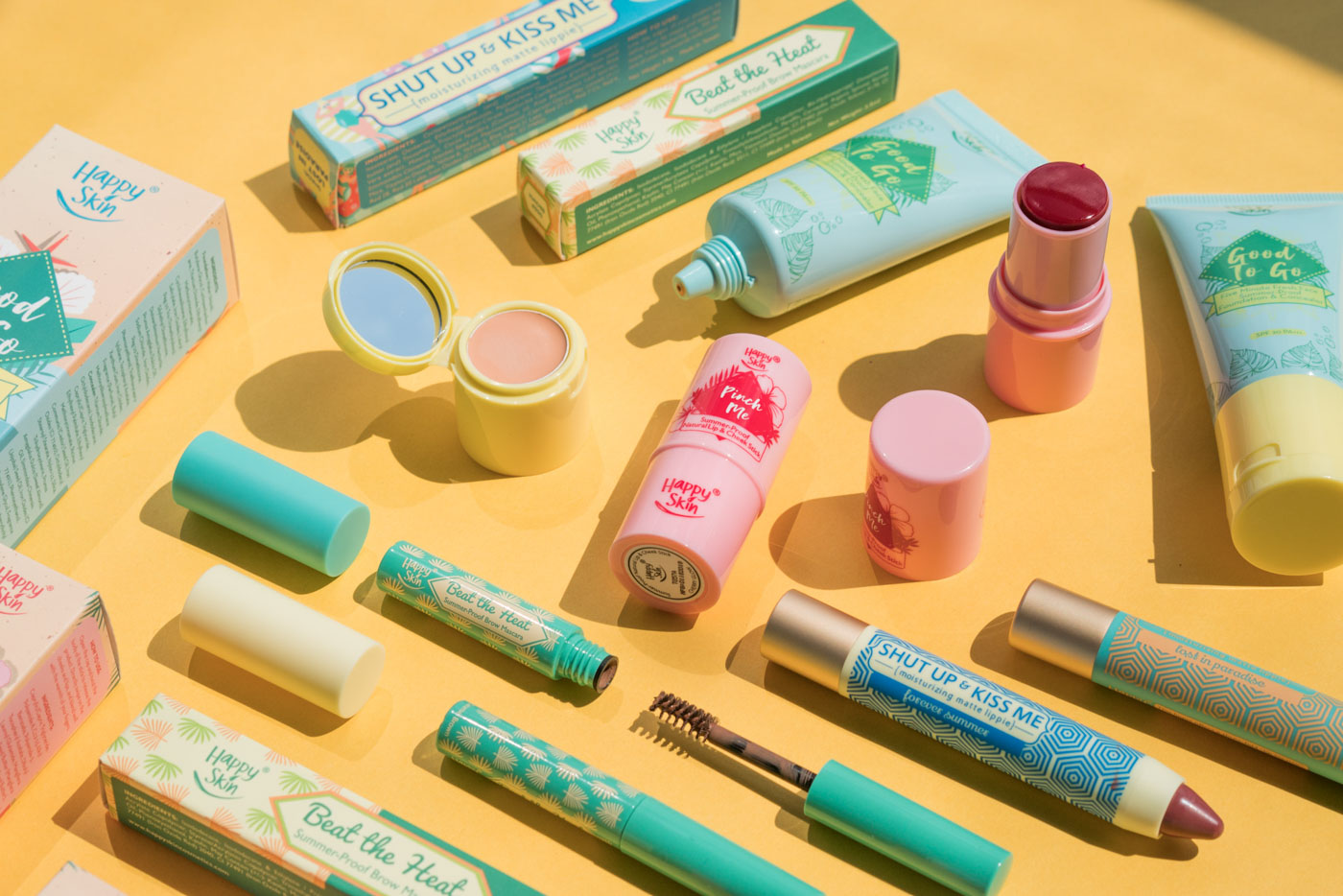 SUMMER-PROOF? We give our initial impressions on Happy Skin's latest collection. All photos by Martin San Diego/Rappler