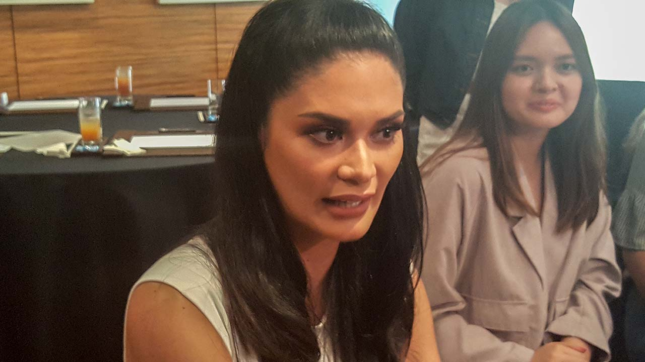 GROWING BRAND. Pia Wurtzbach says she's happy that the Miss Universe Philippines brand has evolved in the country for a good cause. Photo by Alexa Villano / Rappler