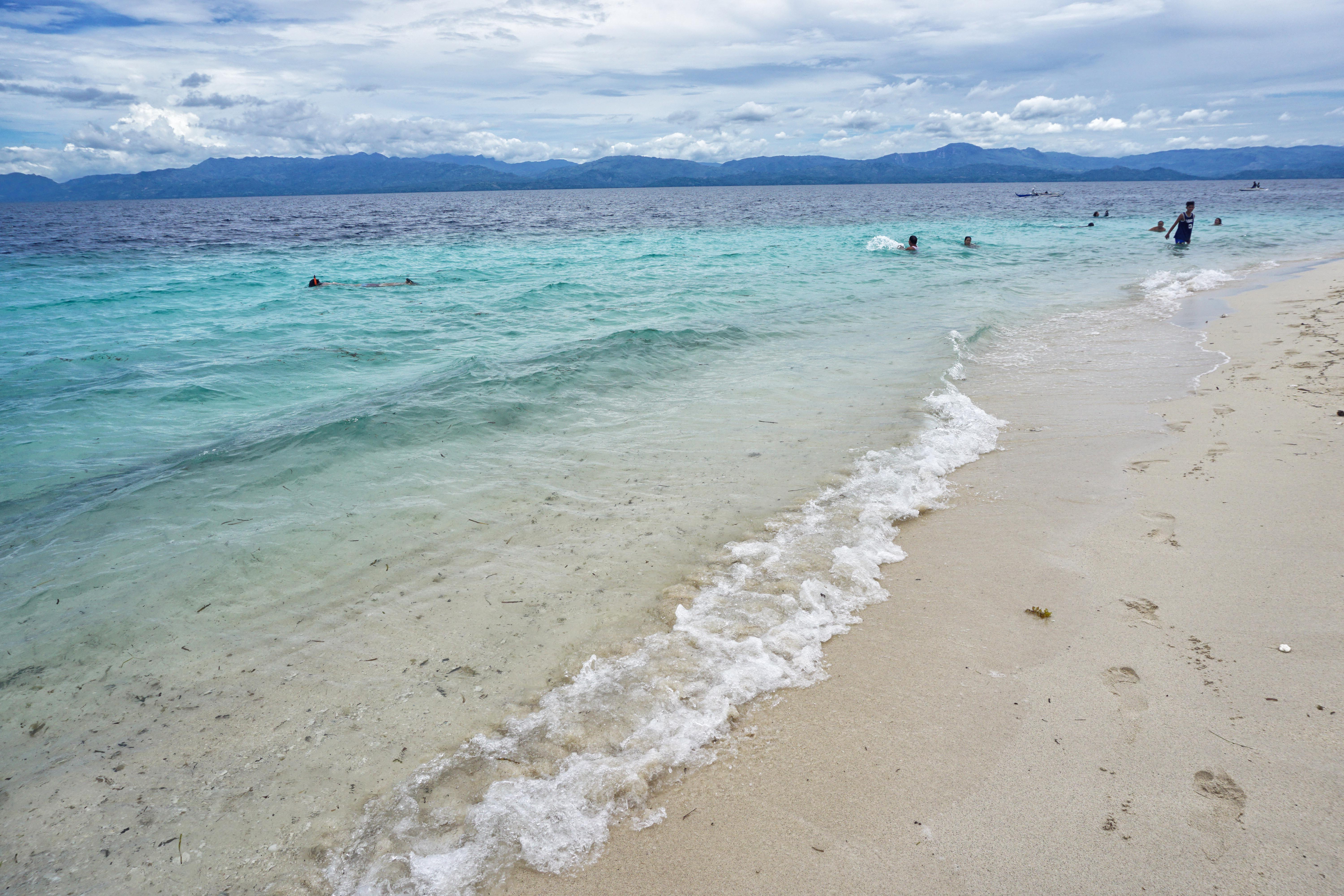 At the nearby town of Moalboal, the beaches are also a perfect spot for a weekend getaway. Photo by Louie Lapat/Rappler