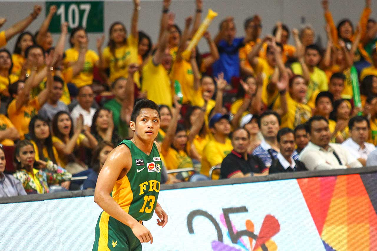 ONE MORE WIN. Mike Tolomia and the FEU Tamaraws are one win away from the UAPA Season 78 title. Photo by Josh Albelda/Rappler