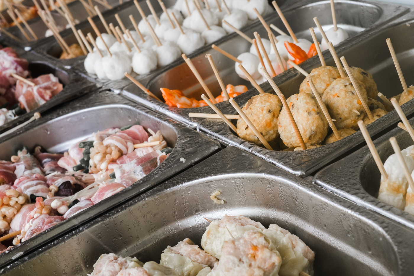 Customers of HK Eat Fresh can choose from a variety of street food which is fried to order.