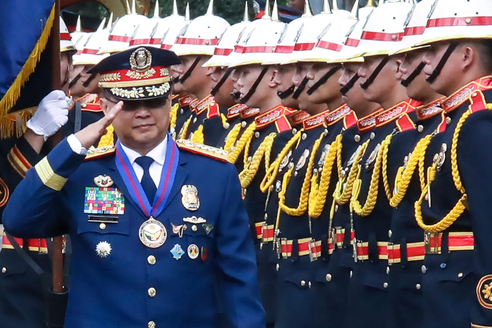 SPECIAL TREATMENT? Newly-installed police chief General Archie Gamboa asked President Rodrigo Duterte to let them check the names of cops on the drug list. File photo by Darren Langit/Rappler