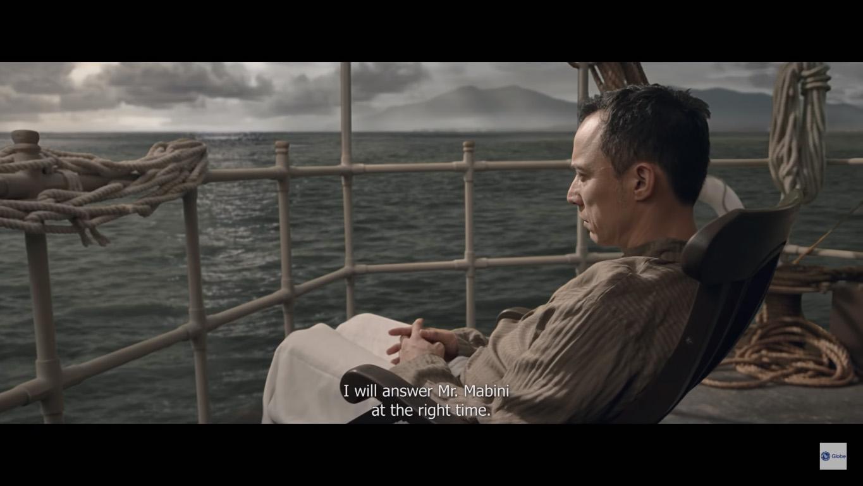 WISE WORDS. Epy Quizon as Apolinario Mabini.